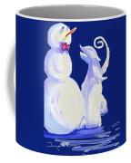 Frosty Blue Coffee Mug