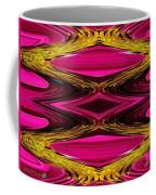 Fuchsia Sensation Zigzags Coffee Mug
