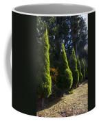 Funeral Cypress Trees Coffee Mug