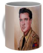 G I Elvis  Coffee Mug