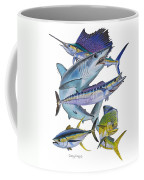 Gamefish Collage Coffee Mug