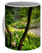 Garden Bench Coffee Mug