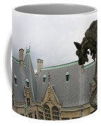 Gargoyles On Roof Of Biltmore Estate Coffee Mug