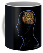 Gears In The Head Coffee Mug