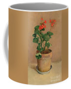Geraniums In A Pot Coffee Mug