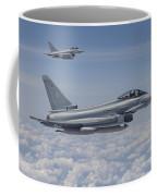 German Eurofighter Typhoon Jets Coffee Mug