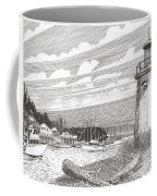 Lighthouse Gig Harbor Entrance Coffee Mug