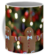 Gingerbread Men In A Line Coffee Mug by Amy Cicconi