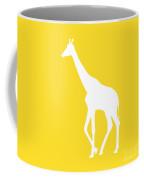 Giraffe In Golden And White Coffee Mug