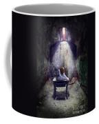 Girl In Abandoned Room Coffee Mug