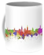 Glasgow Watercolor  Skyline  Coffee Mug