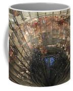Glass Spiral Coffee Mug