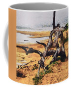 Gnarly Tree Coffee Mug by Barbara Snyder
