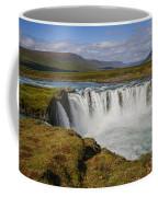 Godafoss Waterfall Coffee Mug