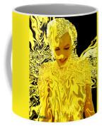 Golden Goddess Coffee Mug
