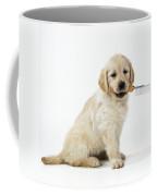 Golden Retriever Puppy Coffee Mug