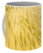 Golden Sand Pattern Created By Surf On Beach Coffee Mug