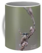 Goldenrod Crab Spider Male  Coffee Mug