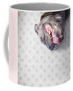 Goofy Blue Staffie Lying On His Back Coffee Mug