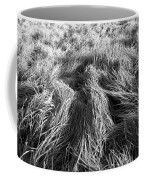 Grass In Black And White Coffee Mug