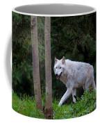Gray Wolf White Morph Coffee Mug