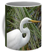 Great Egret Close Up Coffee Mug