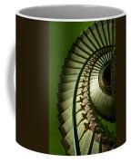 Green Spiral Staircase Coffee Mug