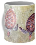Green Turtles Coffee Mug