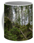 Green Untouched Forest Coffee Mug