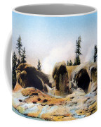Grotto Geyser Yellowstone Np Coffee Mug