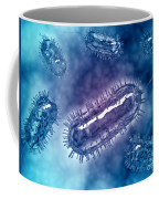 Group Of Escherichia Coli Bacteria Coffee Mug