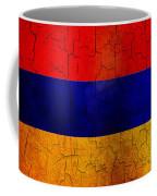 Grunge Armenia Flag  Coffee Mug