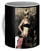 Grunge Babe On Holidays Coffee Mug
