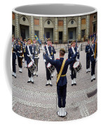 Guards Changing Shifts. Kungliga Slottet.gamla Stan. Stockholm 2 Coffee Mug