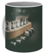 Guitar Head At A Glance Coffee Mug