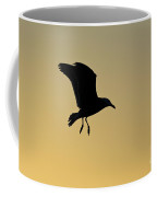Gull Silhouette Coffee Mug