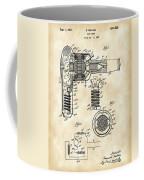 Hair Dryer Patent 1929 - Vintage Coffee Mug