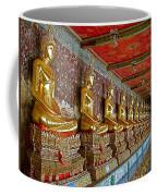 Hall Of Buddhas At Wat Suthat In Bangkok-thailand Coffee Mug