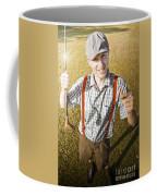 Happy The Golf Man Coffee Mug