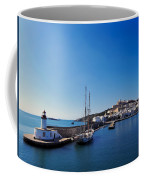 Harbor In Ibiza Town Coffee Mug