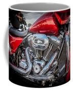 Harley Davidson Motorcycle Harley Bike Bw  Coffee Mug