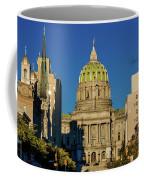 Harrisburg, Pennsylvania, City Skyline Coffee Mug