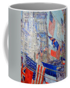 Hassam's Allies Day May 1917 -- The Avenue Of The Allies Coffee Mug