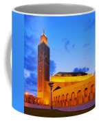 Hassan II Mosque In Casablanca Coffee Mug