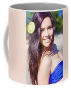 Hawaiian Girl In Hawaii Coffee Mug