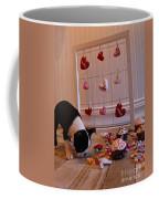 Hearts On The Line Coffee Mug