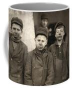 Hine Breaker Boys, 1911 Coffee Mug