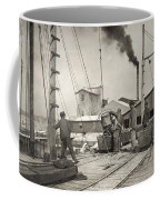 Hine Oyster Fishing, 1911 Coffee Mug