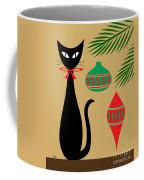 Holiday Cat Coffee Mug