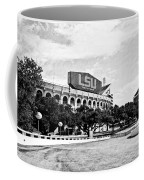 Home Field Advantage - Bw Texture Coffee Mug